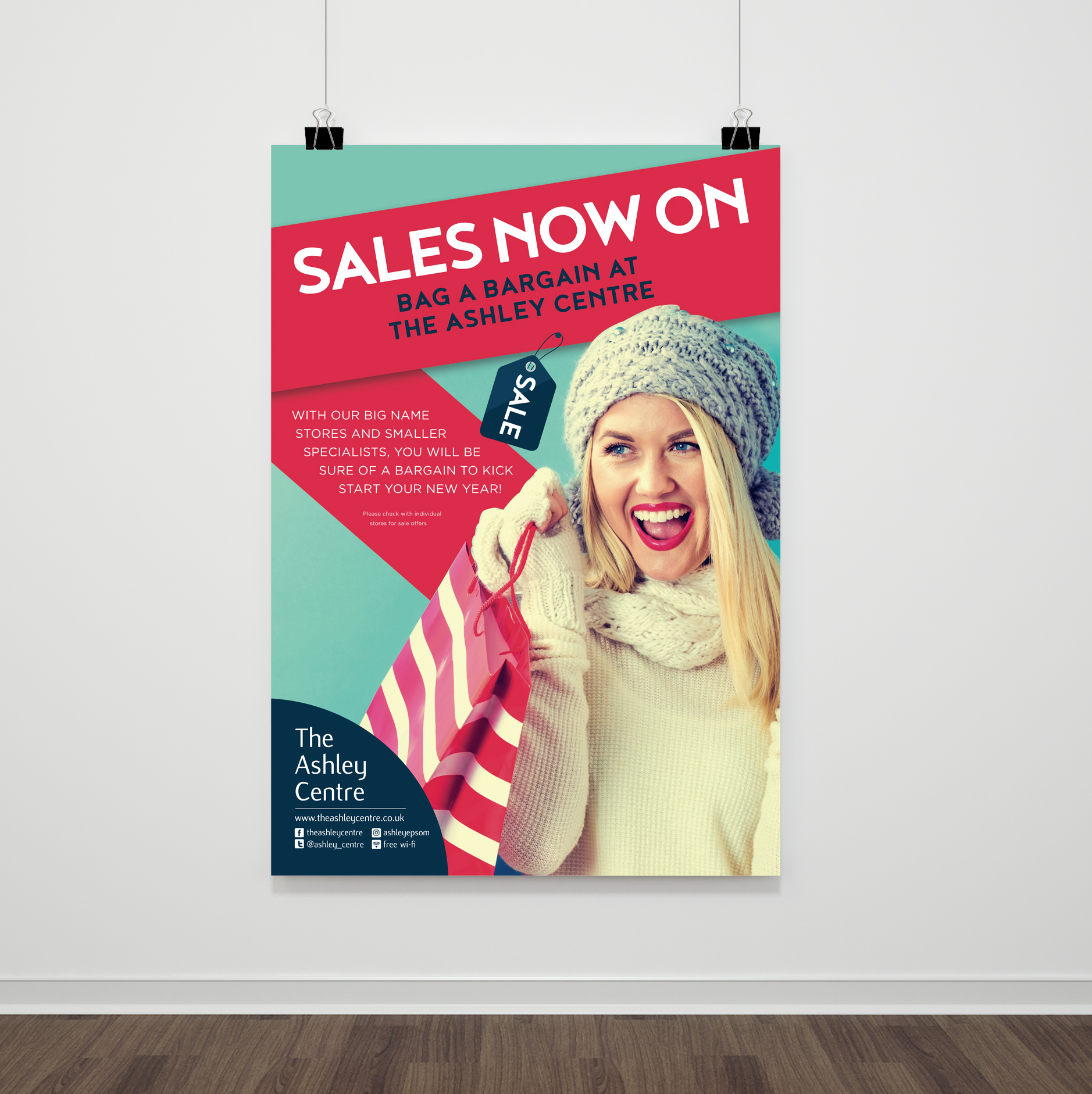 January sales poster