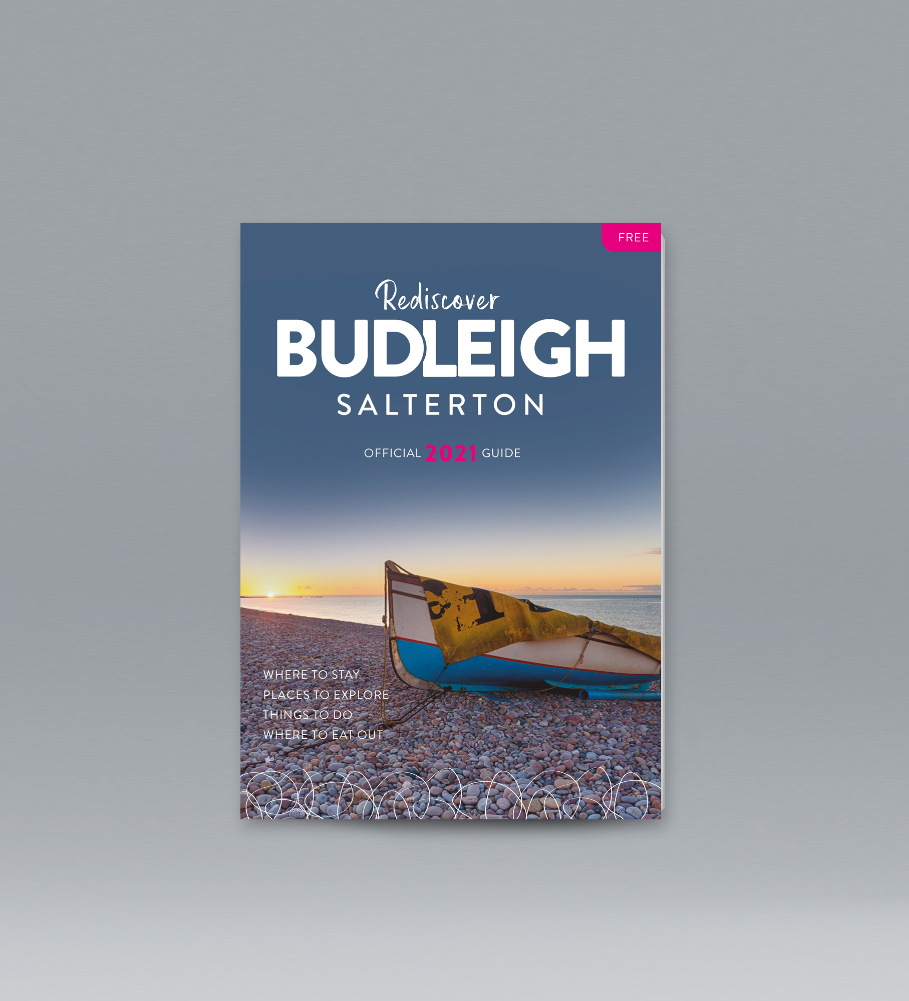 Proposed cover for the Budleigh Guide 2021