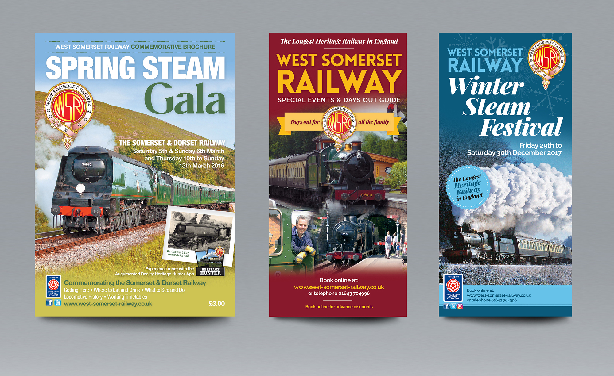 West Somerset Railway Brochures
